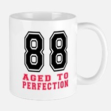 88 Aged To Perfection Birthday Designs Mug