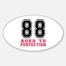 88 Aged To Perfection Birthday Desi Decal
