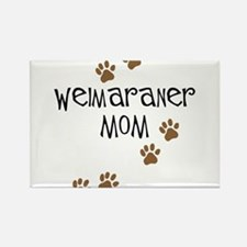 Weimaraner Mom Rectangle Magnet