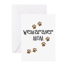 Weimaraner Mom Greeting Cards (Pk of 10)