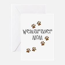 Weimaraner Mom Greeting Cards (Pk of 10)