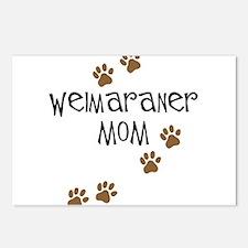 Weimaraner Mom Postcards (Package of 8)