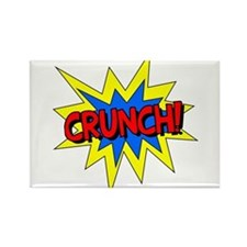 Crunch! Rectangle Magnet