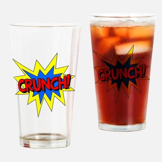Crunch! Drinking Glass