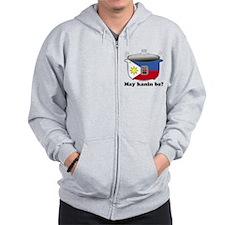 Unique Pinoy designs Zip Hoodie