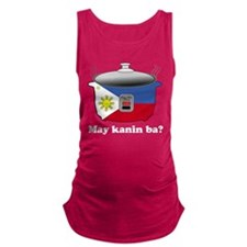 Cute Rice cooker Maternity Tank Top