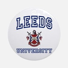 LEEDS University Ornament (Round)