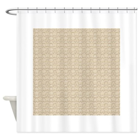 Country Chic Western Pattern Shower Curtain By PatternDesigns