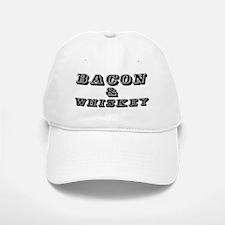 Bacon & Whiskey Baseball Baseball Cap