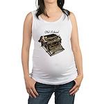 oldschool1.png Maternity Tank Top