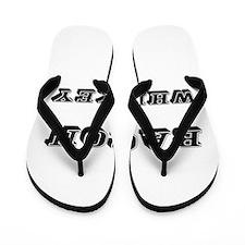 Bacon & Whiskey Flip Flops