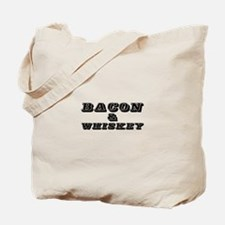 Bacon & Whiskey Tote Bag