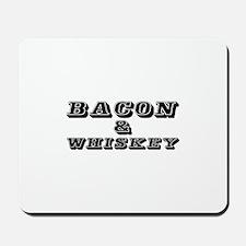 Bacon & Whiskey Mousepad
