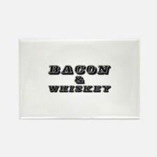 Bacon & Whiskey Magnets