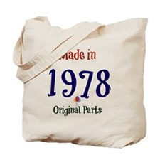 Made in 1978 Tote Bag