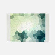 Crystalized Mosaic Pattern Magnets