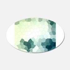 Crystalized Mosaic Pattern Wall Decal
