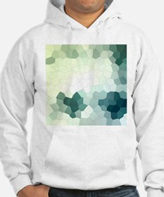 Crystalized Mosaic Pattern Hoodie