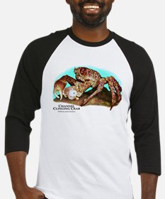 Channel Clinging Crab Baseball Jersey