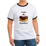 Cake Junkie Ringer T