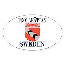 The Trollhättan Store Oval Decal