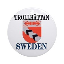 The Trollhättan Store Ornament (Round)