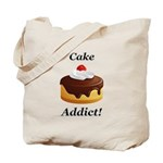 Cake Addict Tote Bag