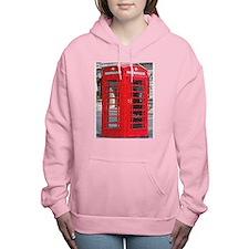 phoneboothpuzzle.png Women's Hooded Sweatshirt