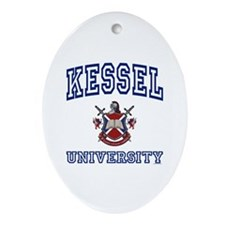 KESSEL University Oval Ornament