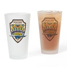 Cute Military design Drinking Glass