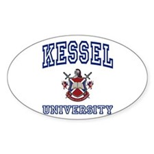 KESSEL University Oval Decal