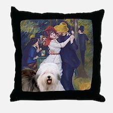 Dance-OldEnglish Throw Pillow