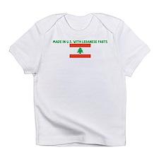 Unique Lebanon flag Infant T-Shirt