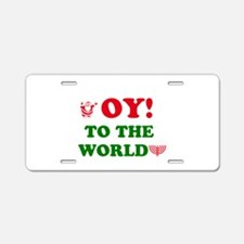 oytoworld1.png Aluminum License Plate