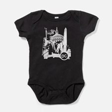 Unique Washington dc Baby Bodysuit