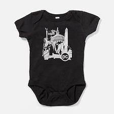 Unique Dc flag Baby Bodysuit