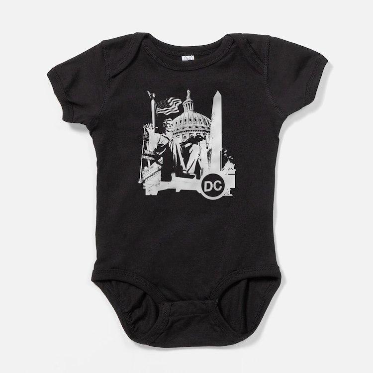 Cute Capitol Baby Bodysuit