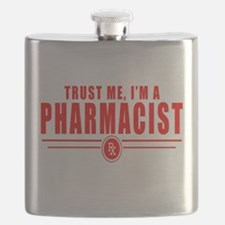 Cute Pharmacist Flask