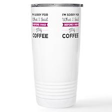 Unique Said Travel Mug