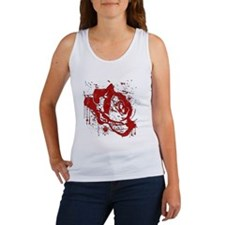 BLOOD ROSE Women's Tank Top