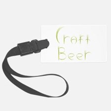 Wheat Craft Beer Luggage Tag
