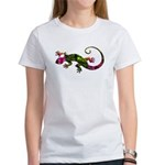Green Purple Gecko Women's T-Shirt