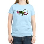 Green Purple Gecko Women's Light T-Shirt