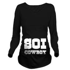 SOI COWBOY Long Sleeve Maternity T-Shirt