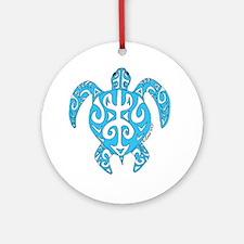 Tribal honu Ornament (Round)