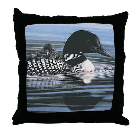 Common Loon Throw Pillow