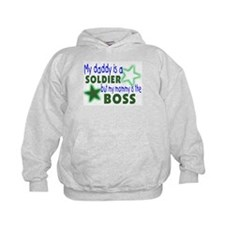 My daddy is a solder-Mommy is Hoodie