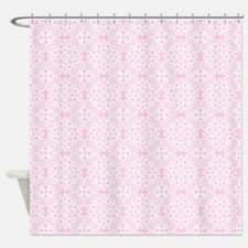 Carnation & White Lace 2 Shower Curtain