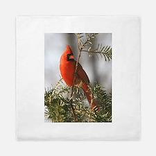 Winter Cardinal Queen Duvet