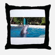 Cute Flipper Throw Pillow